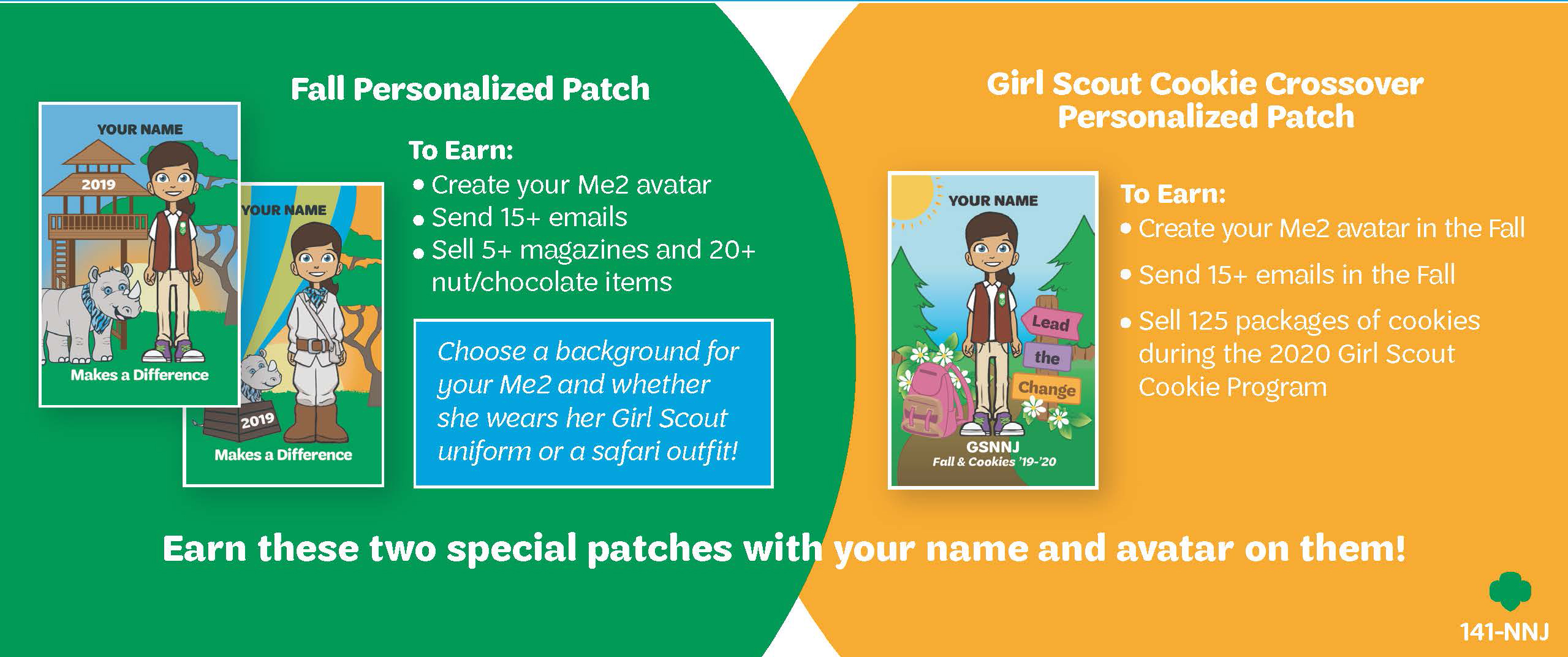 girl scouts fall product 2020