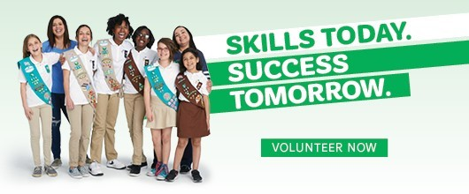 Skill Today. Success Tomorrow. Volunteer for another year. Volunteer Now